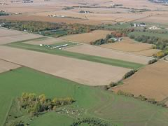 Aerial photo of C55 (Ogle County Airport)
