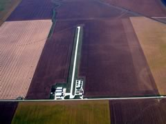 Aerial photo of K96 (Tuscola Airport)