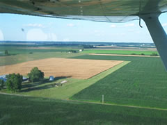 Aerial photo of 27LL (Sullivan Field Airport)