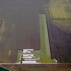 Aerial photo of 1I3 (Shawnee Field Airport)