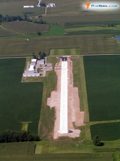 Aerial photo of 1I9 (Delphi Municipal Airport)