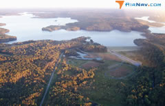Aerial photo of 06I (Patoka Reservoir Landing Area Seaplane Base)