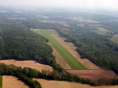 Aerial photo of I61 (Hagerstown Airport)