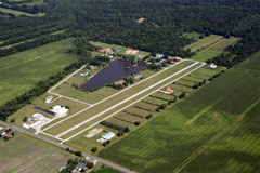 Aerial photo of C98 (Lake Village Airport)