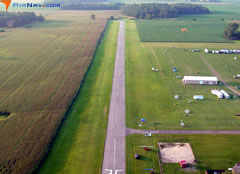 Aerial photo of C92 (Mentone Airport)