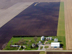 Aerial photo of IN29 (Durflinger Airport)
