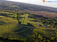 Aerial photo of Y46 (Bedford Municipal Airport)