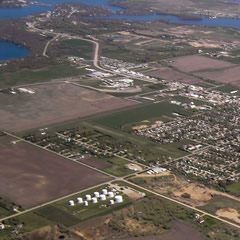 Aerial photo of 4D8 (Fuller Airport)