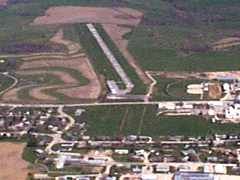 Aerial photo of Y01 (Waukon Municipal Airport)