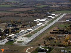Aerial photo of 1K1 (Lloyd Stearman Field Airport)