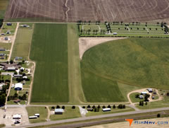 Aerial photo of 8K0 (Bucklin Airport)