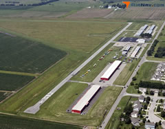 Aerial photo of K34 (Gardner Municipal Airport)