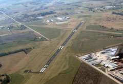 Aerial photo of K81 (Miami County Airport)
