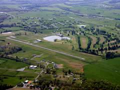 Aerial photo of I96 (Columbia-Adair County Airport)