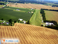 Aerial photo of 35KY (Welcome Field Airport)
