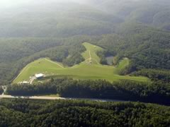 Aerial photo of 3KY2 (Chesnut Knolls Airport)