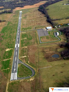 Aerial photo of 5M9 (Marion-Crittenden County James C Johnson Regional Airport)