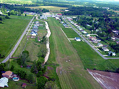 Aerial photo of 70KY (Vine Grove Airport)