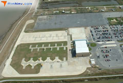 Aerial photo of LS08 (Boothville Heliport)
