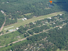 Aerial photo of 5F5 (Bluebird Hill Airport)