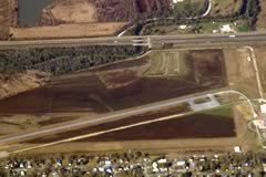 Aerial photo of 6R1 (Welsh Airport)