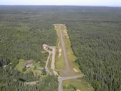 Aerial photo of ME2 (Cutler Regional Airport)
