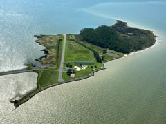 Aerial photo of MD82 (Ragged Island Airport)