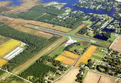 Aerial photo of W41 (Crisfield-Somerset County Airport)