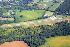 Aerial photo of W50 (Davis Airport)