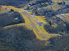 Aerial photo of 2W2 (Clearview Airpark)