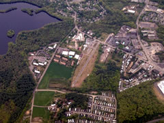 Aerial photo of 9B1 (Marlboro Airport)