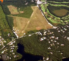 Aerial photo of 2B1 (Cape Cod Airport)