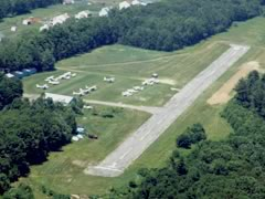 Aerial photo of 60M (Spencer Airport)