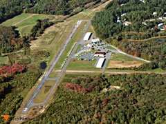 Aerial photo of 6B6 (Minute Man Air Field)