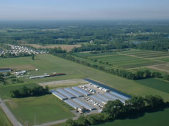 Aerial photo of 43G (Belleville Airport)