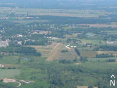 Aerial photo of 6G8 (Shamrock Field Airport)