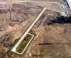 Aerial photo of 48D (Clare Municipal Airport)