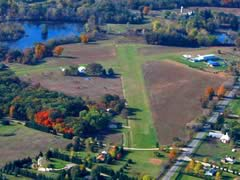 Aerial photo of 2E8 (Cackleberry Airport)