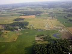 Aerial photo of 65G (Maple Grove Airport)
