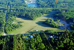 Aerial photo of 5Y0 (Harrisville Airport)