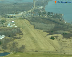 Aerial photo of 5Y2 (Houghton Lake State Airport)