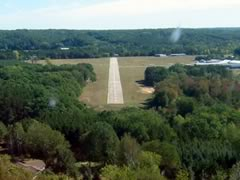 Aerial photo of 24C (Lowell City Airport)