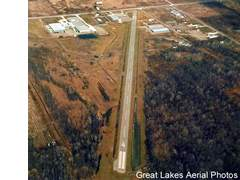Aerial photo of 76G (Marine City Airport)
