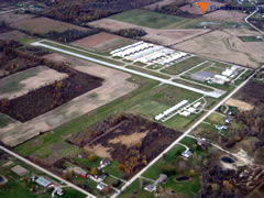 Aerial photo of 57D (Ray Community Airport)