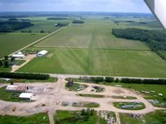 Aerial photo of 96G (Cowley Field Airport)