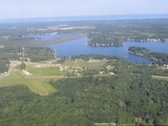 Aerial photo of 40C (Watervliet Municipal Airport)