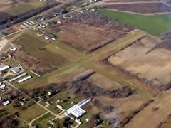Aerial photo of 41C (Calkins Field Airport)