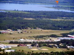 Aerial photo of 7Y3 (Backus Municipal Airport)