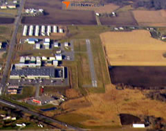 Aerial photo of KCFE (Buffalo Municipal Airport)