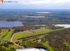 Aerial photo of 9Y2 (East Gull Lake Airport)